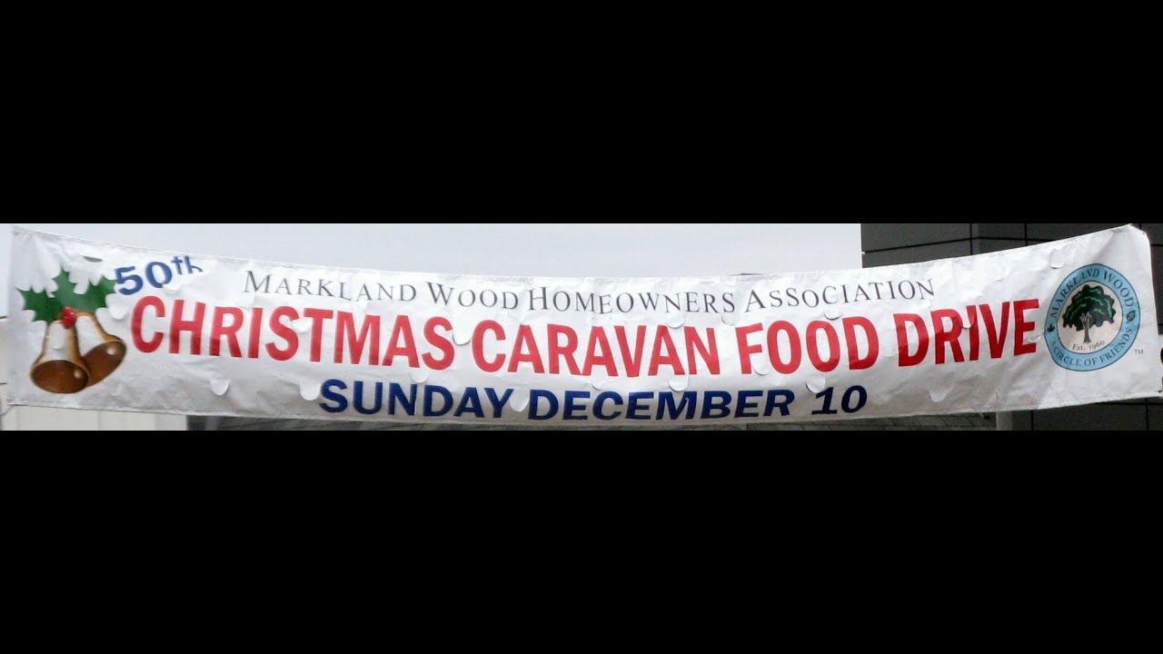 Markland Christmas Caravan 2020 Markland Wood 50th Annual Christmas Caravan & Food Drive   YouTube