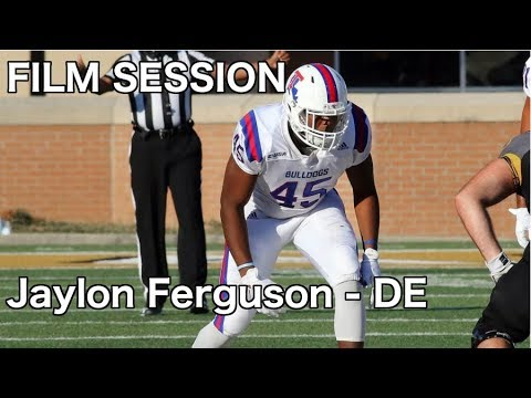 Jaylon Ferguson (LT) Film Session (DE) - 2019 NFL Draft