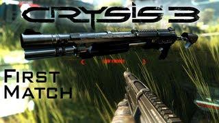 Crysis 3: First Match Shotgun Rampage 1080P PC Gameplay