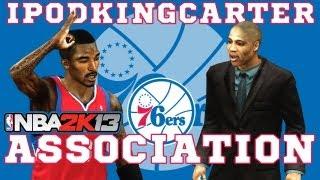 NBA 2K13 Association: Philadelphia 76ers - Ep. 3 | New Coach Shows His Passion During The Preseason