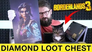 My Cat Unbox's Borderlands 3 Diamond Loot Chest Collector's Edition Unboxing with ME!