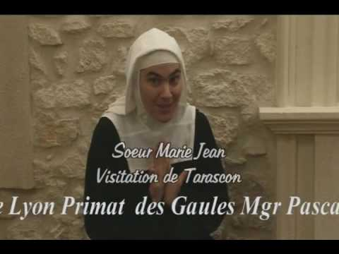 Moniales Visitandines novices film by JC Guerguy Ciné Art Loisir