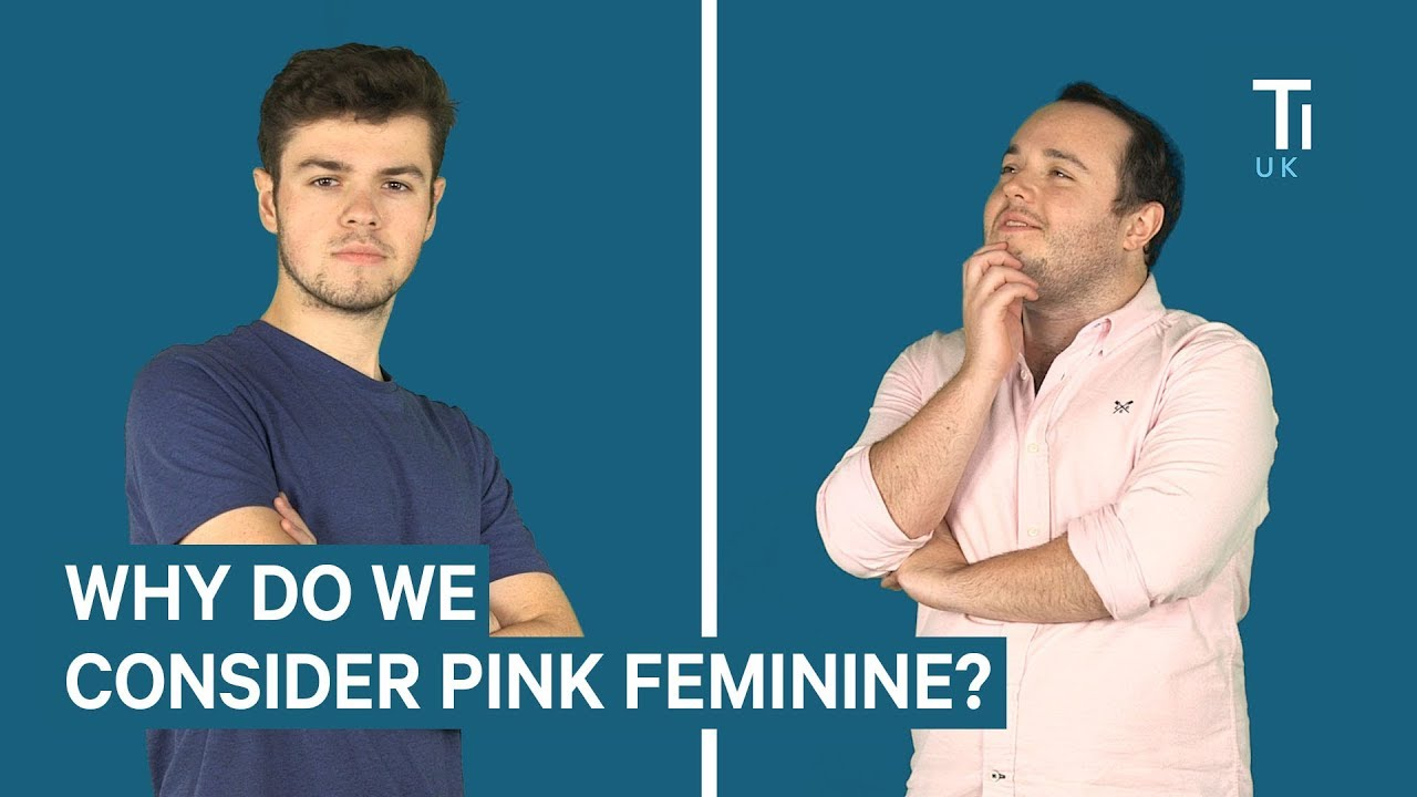 Why Pink Used To Be A Boy S Colour And Blue