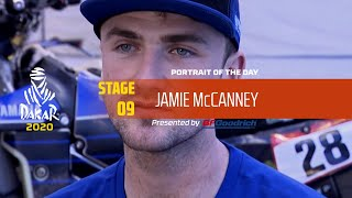 Dakar 2020 - Stage 9 - Portrait of the day - Jamie McCanney