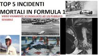 TOP 5 incidenti mortali in Formula 1 più macabri e tristi - IMMAGINI FORTI
