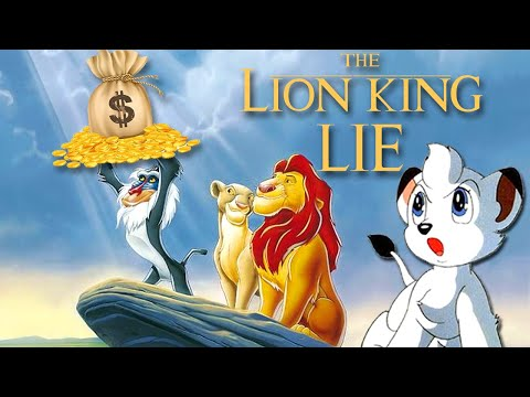 The Lion King Lie - Did Disney Steal The Lion King? (Simba Vs Kimba The White Lion Controversy)