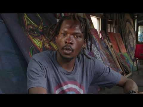 Nairobi Artists Turn Trash into Art for World Habitat Day