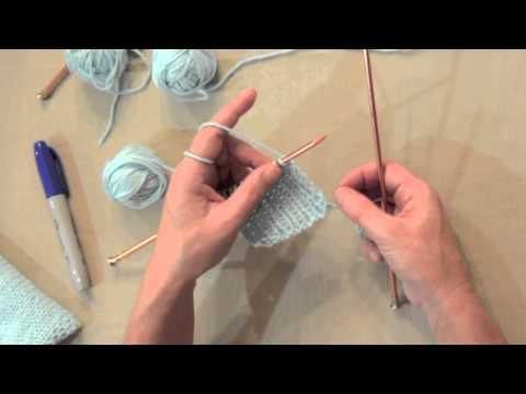 Knit One, Purl One Ribbing Tutorial—A Continental Knitting Lesson The Oma way