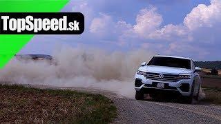 VW Touareg 3.0 V6 TDI test - Maroš ČABÁK TOPSPEED.sk