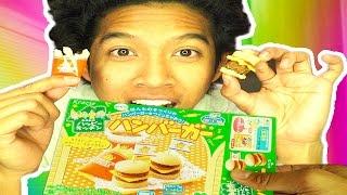 DIY JAPANESE MINI BURGER, Fries, AND COKE!!!