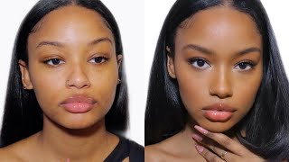 NO FOUNDATION Makeup Routine | Easy and Glowy Everyday Makeup