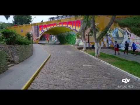 Mavic Pro fly Barranco Perú 4k