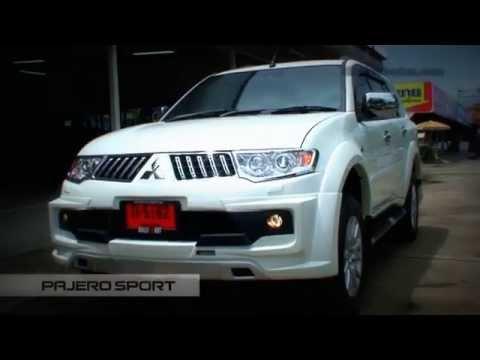 Mitsubishi Pajero Sport 2013 Body kits ZECON