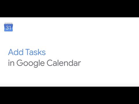 How To: Add task in Google Calendar