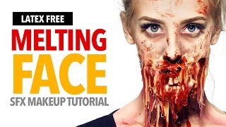 Quick and easy halloween makeup tutorial