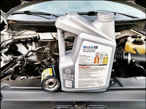 How To Change The Engine Oil On Any Vehicle Ford F