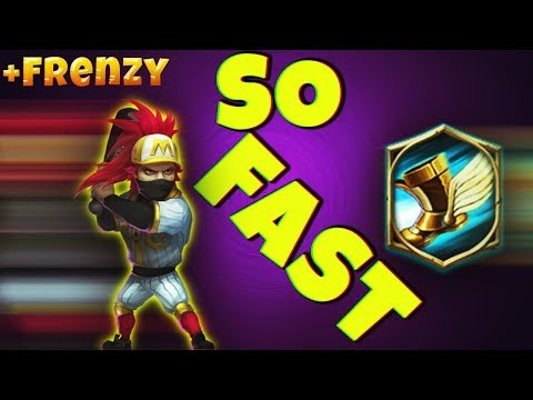 RONIN | Sprint & Frenzy | HOLLY SH** SO FAST !!! | CASTLE CLASH