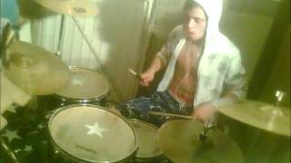 UMBER-BLUE SKIES(FLUX PAVILION REMIX JAMIROQUAI) DRUM COVER