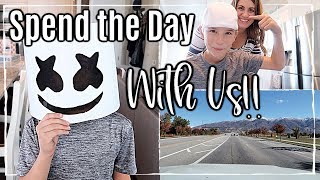 SPEND THE DAY WITH ME | DAY IN THE LIFE OF A SAHM | CLEANING, MOM LIFE + MORE | This Crazy Life Vlog