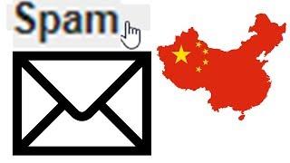 Das passiert, wenn man auf Spam aus China antwortet