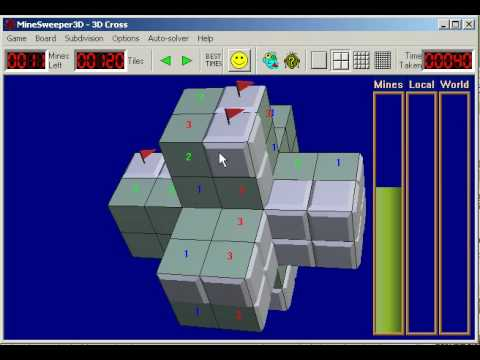 MineSweeper3D - 3D version of Minesweeper, the classic game