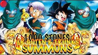 1000 STONES LR GOTEN AND TRUNKS SUMMONS | LIVE | Dokkan Battle thumbnail