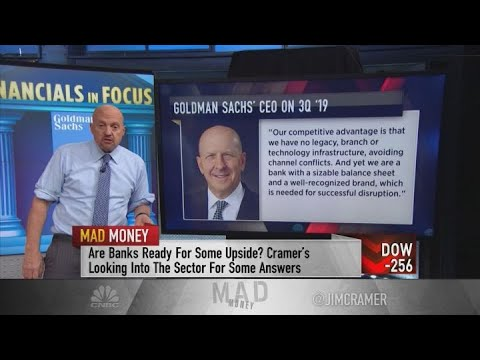 Jim Cramer on investing in Goldman Sachs, Morgan Stanley and American Express
