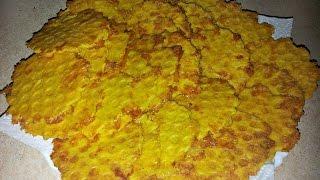 Домашние Чипсы сырные в вафельнице в домашних условиях (Закуска к пиву) chips