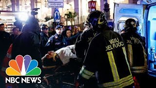 Rome Escalator Runs Out Of Control, Causes Pileup And Injuries | NBC News