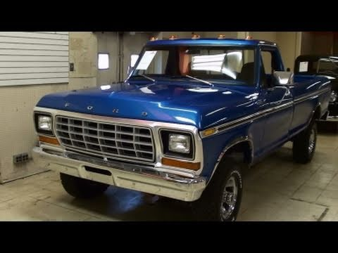 Chevy 85 Truck >> 1979 Ford F150 4x4 Pickup 351 V8 - Nicely Restored Classic - YouTube