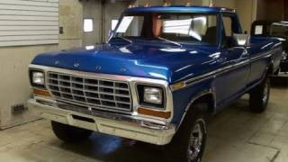 1979 Ford F150 4x4 Pickup 351 V8 - Nicely Restored Classic
