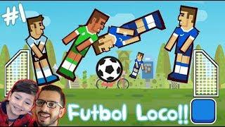 Soccer Physics Gameplay   Juego de Futbol Loco   Juegos para niños