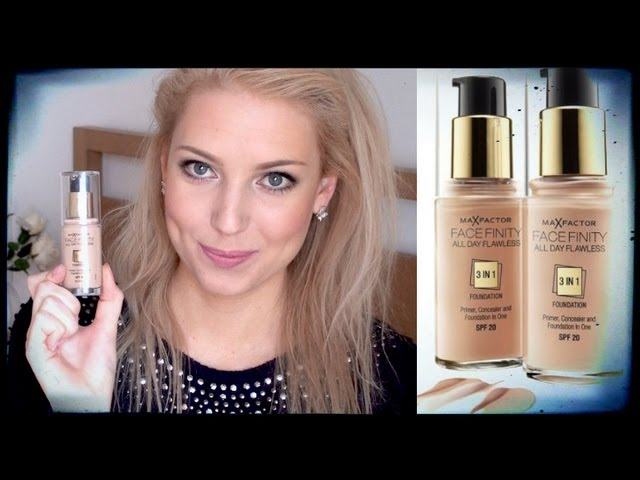 Foundation Review: Max Factor FaceFinity All Day Flawless 3 in 1 ...