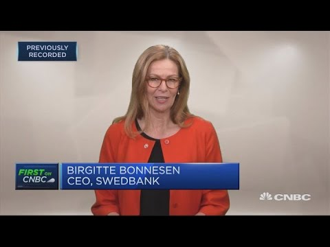 Swedbank CEO: We are a low-risk bank | Squawk Box Europe