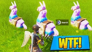 SECRET Supply Llama LOCATIONS FOUND! How to Find Supply Llama in Fortnite (Fortnite Battle Royale)