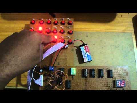 4 bit Adder Circuit ( Digital Logic Design Project ) - YouTube