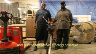 Melvin Thompson, ReStore Volunteer and NOAHH Homeowner