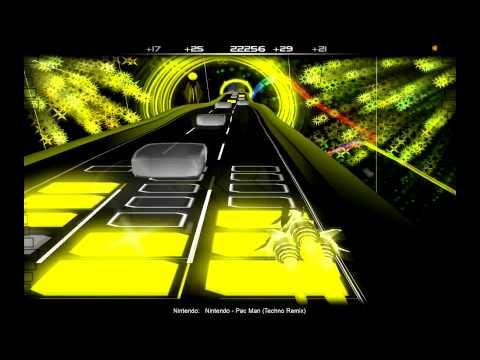 Nintendo- Pac Man Remix on Audiosurf (Hard song)