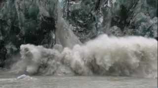 River vs Glacier
