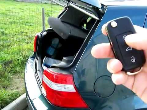 Vw Hatch Pop Golf 4 Mk4 Diy How To Youtube