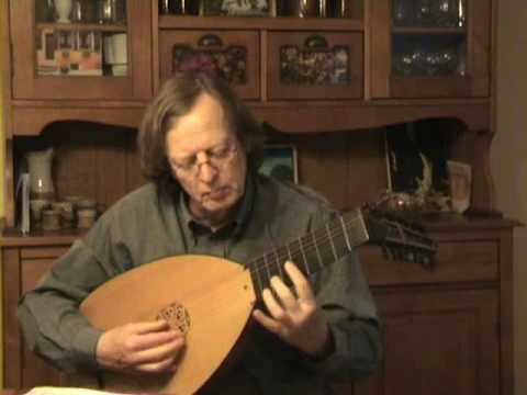 John Dowland - The Frog Galliard - (P23a) - Lute