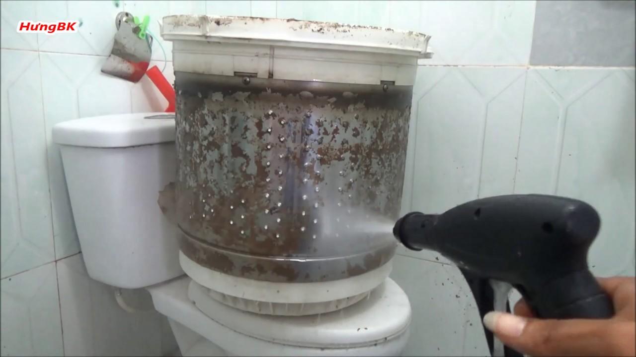 Hướng Dẫn Vệ Sinh Máy Giặt Cửa Trên P2 | Máy Giặt Sanyo Model ASW 95S2T