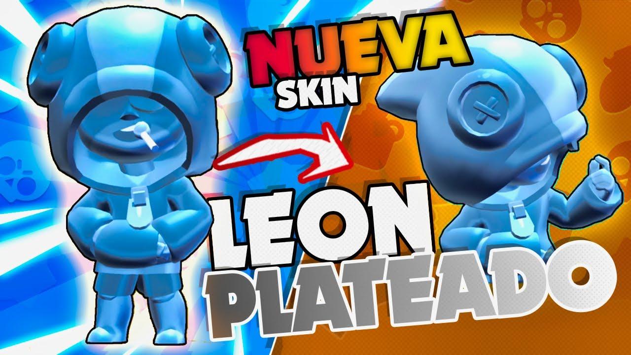 ¡¡ MI PRIMERA SKIN PLATEADA DE LEON !! en Brawl Stars - Vi Games
