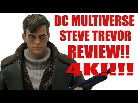 DC MULTIVERSE WONDER WOMAN MOVIE STEVE TREVOR FIGURE REVIEW 4K