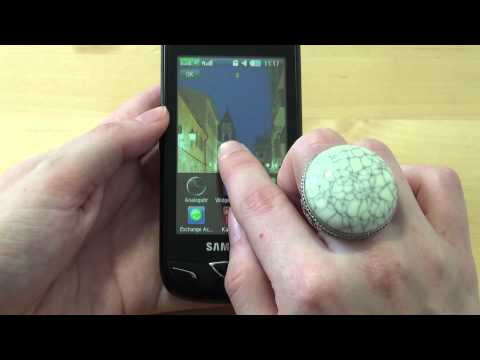 Samsung GT-B7722i Test Bedienung