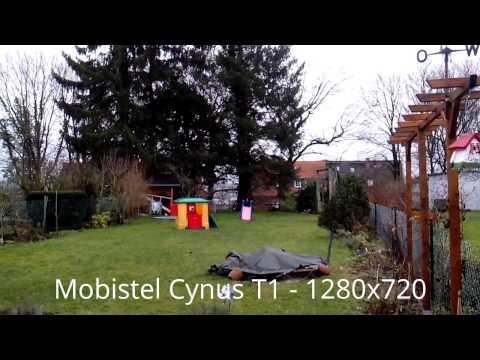 Kurze Testvideos Alcatel 997D, Mobistel Cynus T1 & T2 - 720p