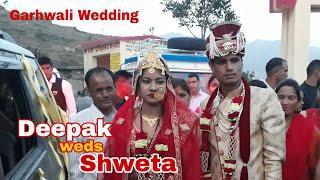 Deepak weds Shweta Wedding Teaser ll Garhwali Wedding ll