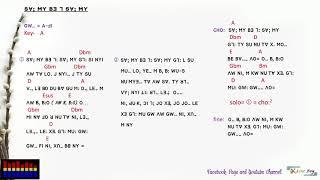 Lisu Song Lyrics (SV; MY B3 7 SV MY= / GW-. A-SI)