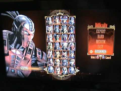 All Mortal Kombat 9 Characters (PS3, without DLCs)