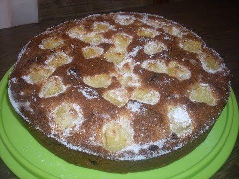 recette-gâteau-à-l'ananas-et-raisin-caramélisés---facile-et-rapide